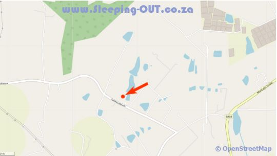 Map Ibis Place Guest House in George  Garden Route  Western Cape  South Africa