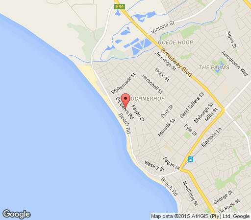 Map Life at Sea in Strand  Helderberg  Western Cape  South Africa