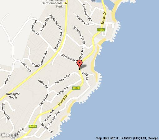 Map Le Touessrok 29 with 180 Degree Sea View  in Ramsgate  South Coast (KZN)  KwaZulu Natal  South Africa