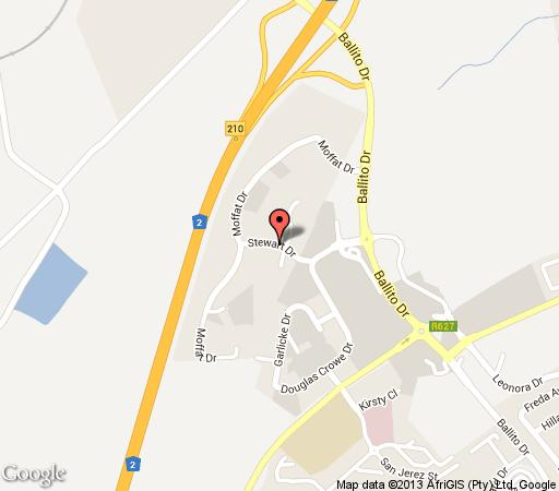 Map Regal Inn Ballito in Ballito  North Coast (KZN)  KwaZulu Natal  South Africa