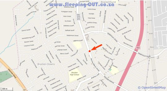 Map The Prince & the Pauper Guest House in Brackenhurst  Alberton  Ekurhuleni (East Rand)  Gauteng  South Africa