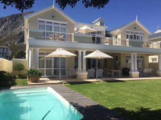 Map Sandals Beach Villa in Hermanus  Overberg  Western Cape  South Africa