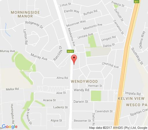 Map Elsie\'s Bed & Breakfast in Woodmead  Sandton  Johannesburg  Gauteng  South Africa