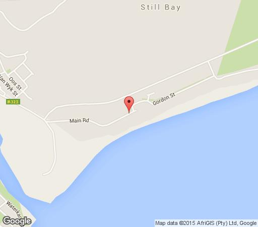Map Suidenrus in Stilbaai  Garden Route  Western Cape  South Africa