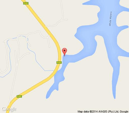 Map Fire Thorn  Cottage in Hazyview  The Panorama  Mpumalanga  South Africa