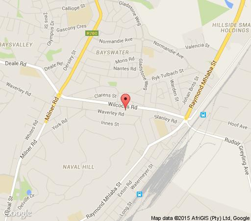Map Primavera Guest House in Bloemfontein  Mangaung  Free State  South Africa