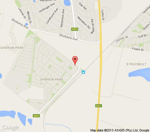 Map La Maison De Ville  in Springs  Ekurhuleni (East Rand)  Gauteng  South Africa