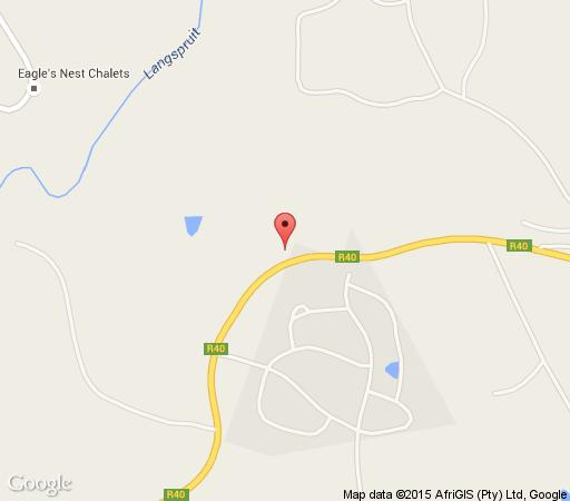 Map HazyPark Lodge and Caravan Park in Hazyview  The Panorama  Mpumalanga  South Africa
