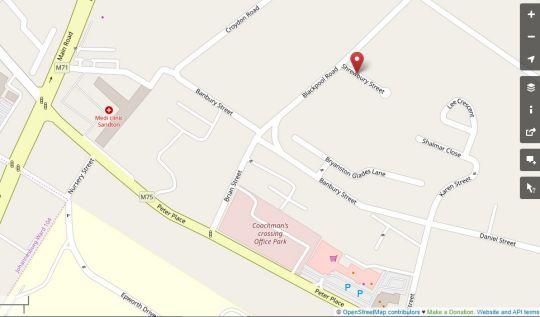 Map BluSwan Guest House in Bryanston  Sandton  Johannesburg  Gauteng  South Africa