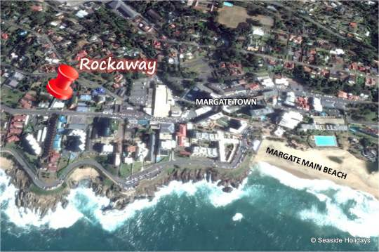 Map 2 Rockaway in Margate  South Coast (KZN)  KwaZulu Natal  South Africa