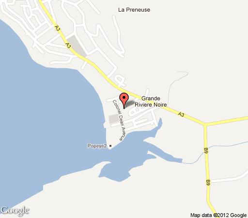 Map Marlin Creek Residence in Black River  Mauritius