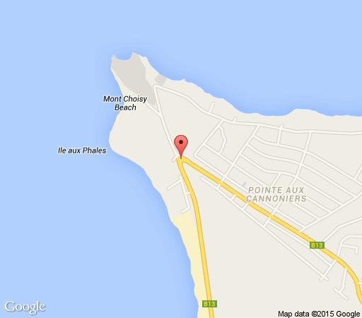 Map La Pointe Villas     in Pointe aux Canonniers  Mauritius