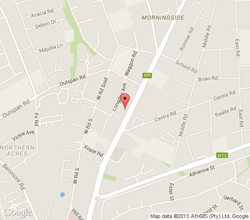 Map Faircity Falstaff Hotel in Morningside (JHB)  Sandton  Johannesburg  Gauteng  South Africa