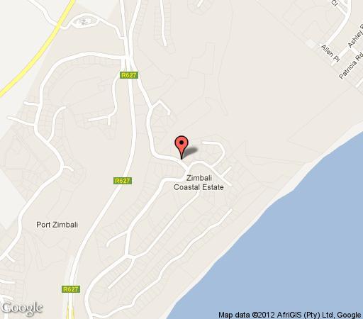 Map 5 Imbali Lakes in Zimbali  North Coast (KZN)  KwaZulu Natal  South Africa