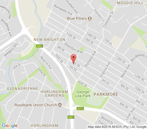 Map Claires of Sandton in Parkmore  Sandton  Johannesburg  Gauteng  South Africa