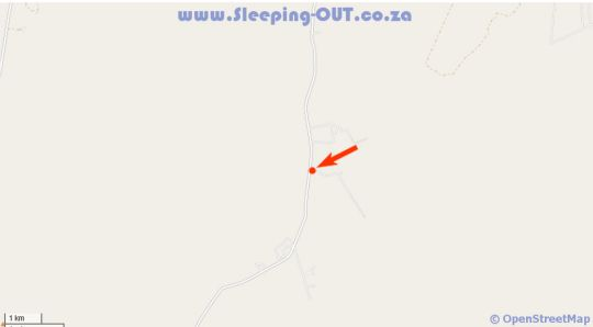Map Bushbuck Hills Game Farm in Swartruggens  Bojanala  North West  South Africa