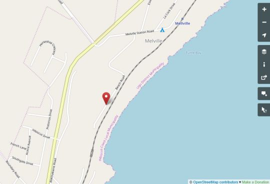 Map PawPaw Place in Melville (KZN)  South Coast (KZN)  KwaZulu Natal  South Africa
