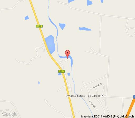 Map Avianto in Muldersdrift  West Rand  Gauteng  South Africa
