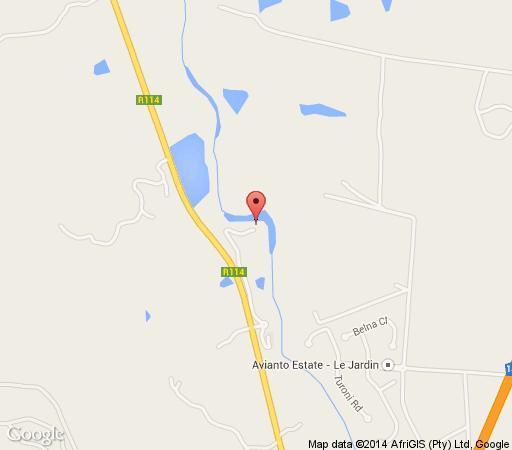 Map Avianto in Muldersdrift  West Rand  Gauteng  South Africa