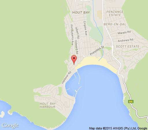 Map Ryan\'s Place in Hout Bay  Atlantic Seaboard  Cape Town  Western Cape  South Africa