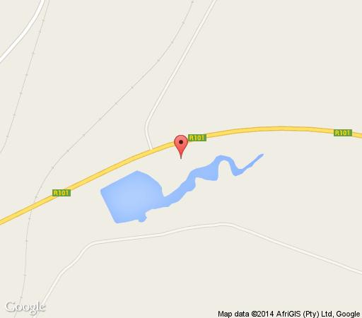 Map Horizonlodge  in Mokopane  Waterberg  Bushveld  Limpopo  South Africa
