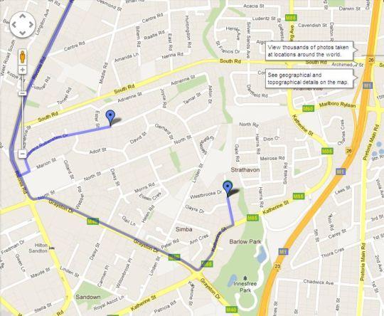 Map Dynasty Forest Sandown Hotel & Confere in Sandton Central  Sandton  Johannesburg  Gauteng  South Africa