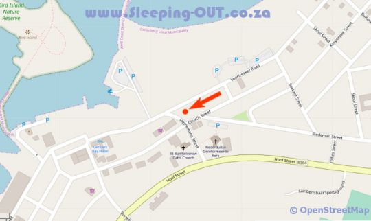 Map @TheBay Guest Villa in Lambert's Bay  West Coast (WC)  Western Cape  Afrique du Sud