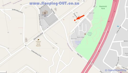 Map 94onWild in Newlands (PTA)  Pretoria East  Pretoria / Tshwane  Gauteng  Zuid-Afrika