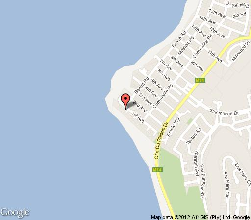 Map Watersedge Nr. 3 in Melkbosstrand  Blaauwberg  Cape Town  Western Cape  South Africa