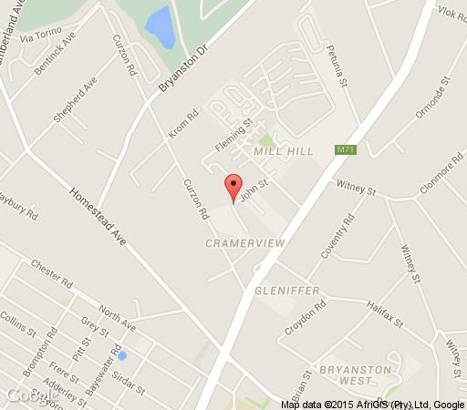 Map Cape Elegance  in Bryanston  Sandton  Johannesburg  Gauteng  South Africa