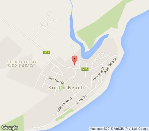 Map Milkwood on Main in Kidds Beach  Cacadu (Sarah Baartman)  Eastern Cape  South Africa