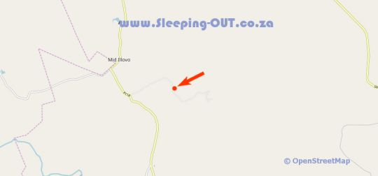 Map Gwahumbe Game & Spa in Mid Illovo  Midlands  KwaZulu Natal  South Africa