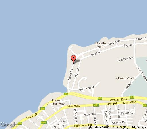 Map Atlantic Ridge - T002 in Mouille Point  Atlantic Seaboard  Cape Town  Western Cape  South Africa
