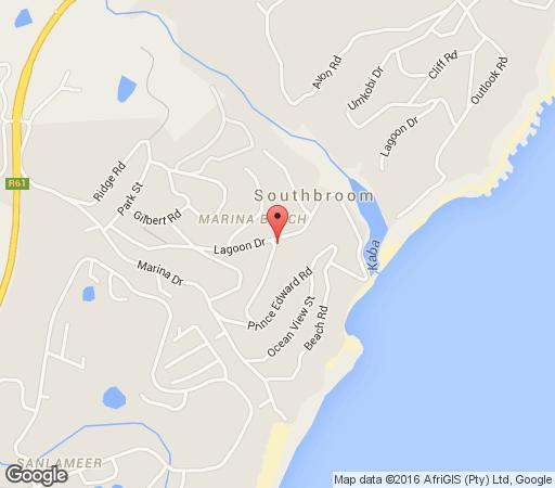 Map Marina Beach - River View in Marina Beach  South Coast (KZN)  KwaZulu Natal  South Africa