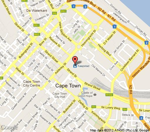 Map 205 SeaCliffe Apartment in Green Point  Atlantic Seaboard  Cape Town  Western Cape  South Africa