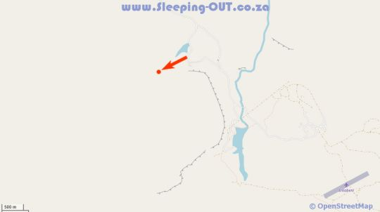 Map Lakeside Lodge in Mokopane  Waterberg  Bushveld  Limpopo  South Africa