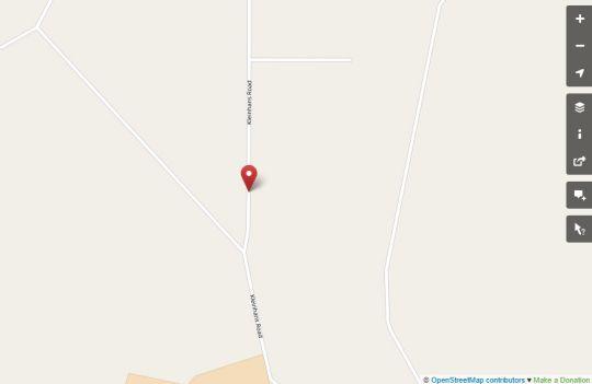 Map Bel Tramonto in Bloemfontein  Mangaung  Free State  South Africa