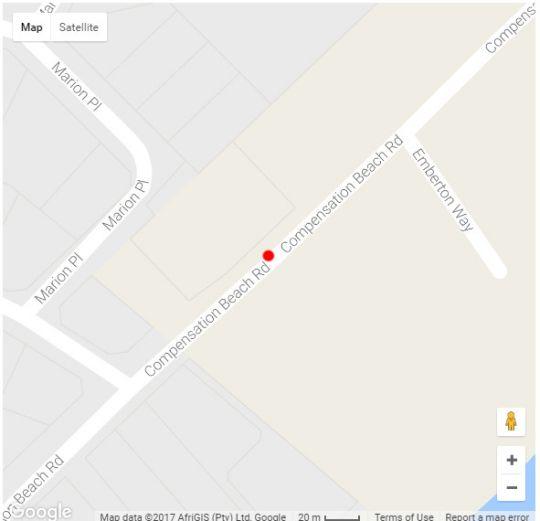 Map 3 La Pirogue Penthouse in Ballito  North Coast (KZN)  KwaZulu Natal  South Africa