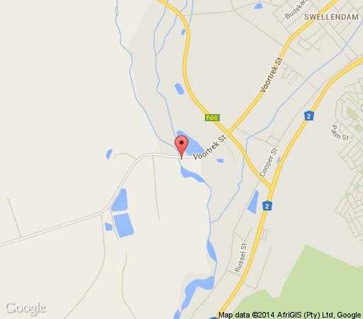 Map Bloomestate Swellendam in Swellendam  Overberg  Western Cape  South Africa