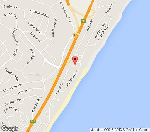 Map LaLuxe in Umhlanga Rocks  Umhlanga  Northern Suburbs (DBN)  Durban and Surrounds  KwaZulu Natal  South Africa