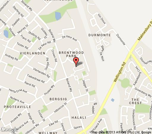 Map Durbanmist in Durbanville  Northern Suburbs (CPT)  Cape Town  Western Cape  South Africa