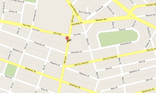 Map 52 On Ninth B&B in Florida  Roodepoort  West Rand  Gauteng  South Africa