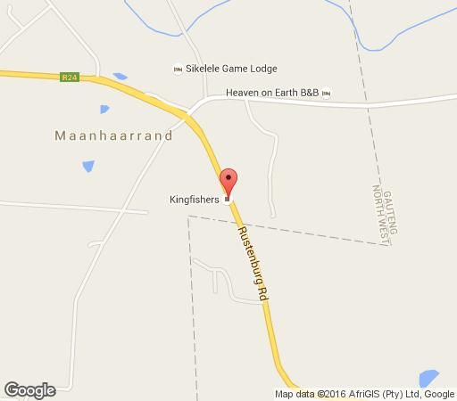 Map Kingfishers Trout Farm in Magaliesburg  West Rand  Gauteng  South Africa