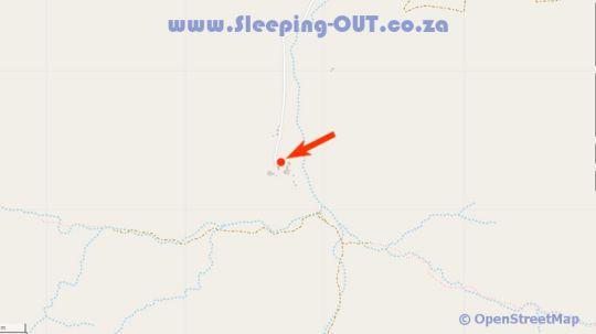 Map Cedar Guesthouse in Baviaanskloof  Cacadu (Sarah Baartman)  Eastern Cape  South Africa