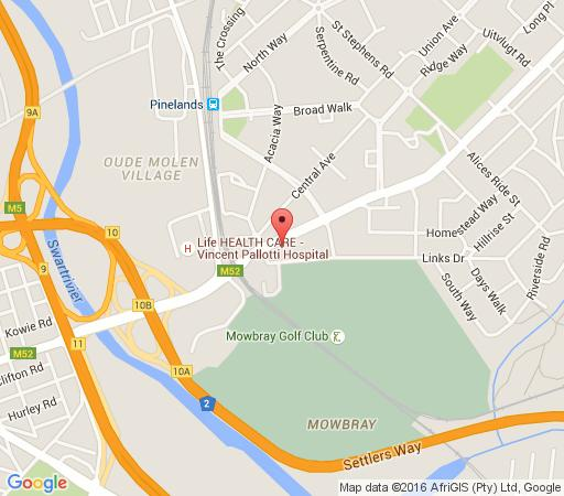 Map Nupen Manor in Pinelands  Southern Suburbs (CPT)  Cape Town  Western Cape  South Africa