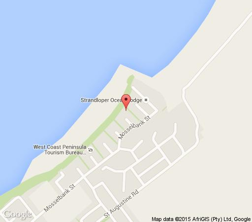 Map Baywatch Penthouse in Paternoster  West Coast (WC)  Western Cape  South Africa