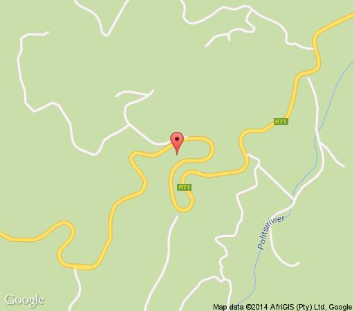 Map  Magoebaskloof Mountain lodge in Polokwane  Capricorn  Limpopo  South Africa