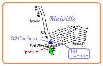 Map 33 on First in Melville (JHB)  Northcliff/Rosebank  Johannesburg  Gauteng  South Africa
