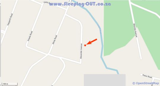 Map Morgenzon Bed And Breakfast in Kloof  Western Suburbs (DBN)  Durban and Surrounds  KwaZulu Natal  Afrique du Sud