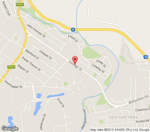 Map Reheifo Lodge in George  Garden Route  Western Cape  South Africa